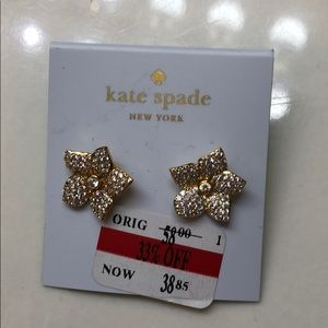 New Kate Spade Flower Earrings
